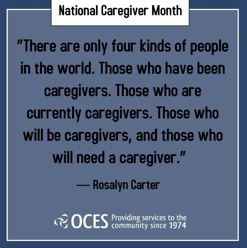 OCES and National Caregivers Month